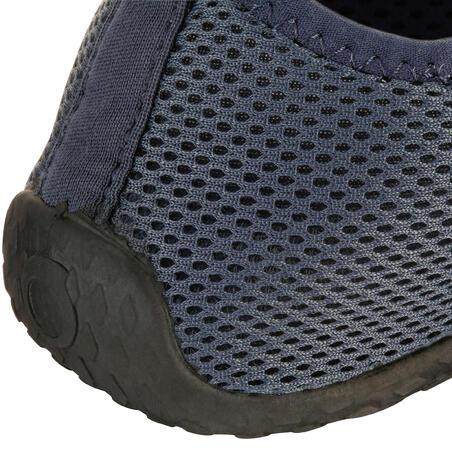 Escarpines Cangrejeras Zapatos Acuáticos De Río Snorkel Subea Adulto Gris