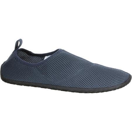 Zapatillas Acuáticas De Río Snorkel Subea Adultos Gris Oscuro