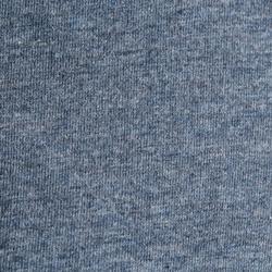 Polo de manga larga equitación niña INDIAN PÓNEY gris azulado