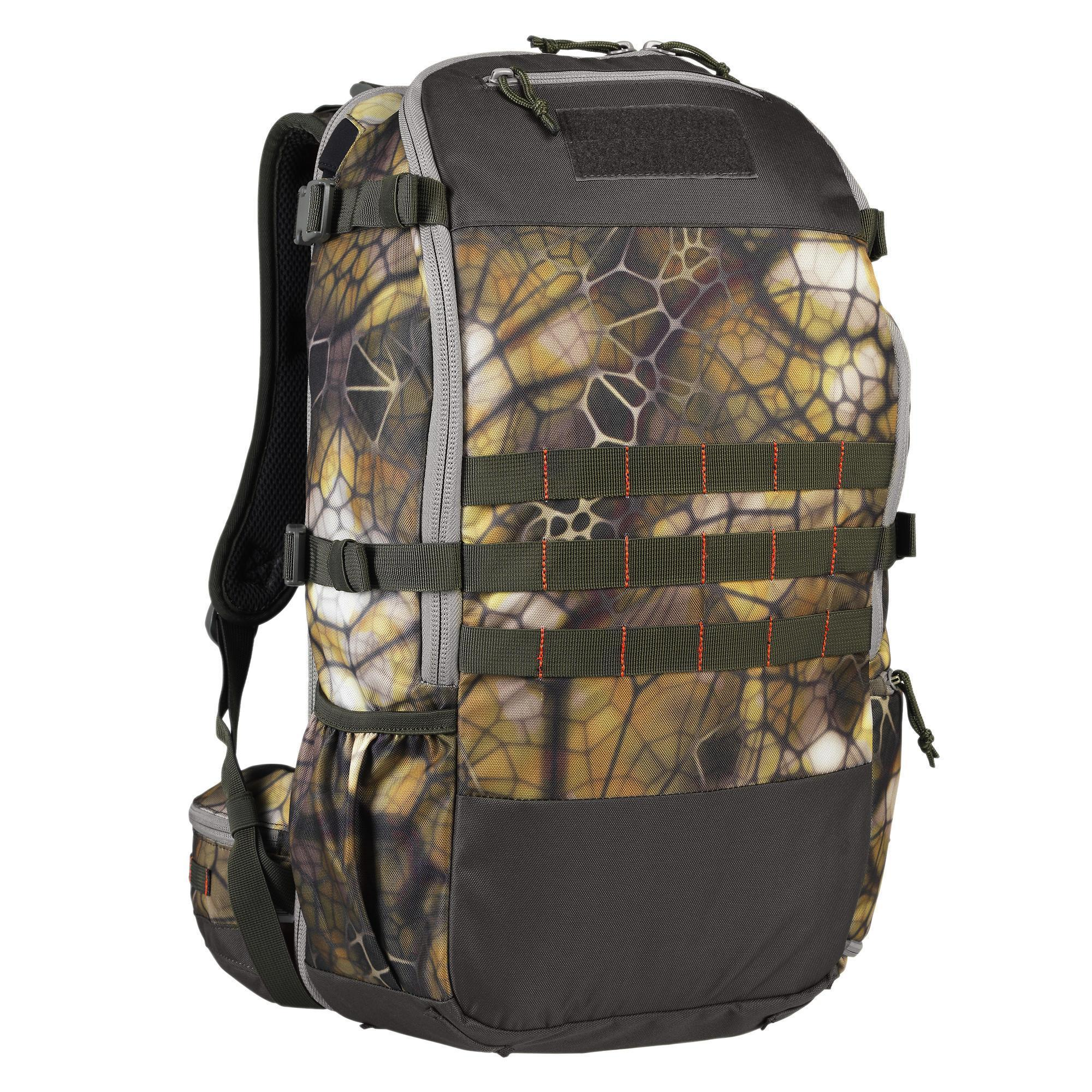 X-ACCESS COMPACT HUNTING BACKPACK 45 LITRE FURTIV CAMOUFLAGE | Solognac