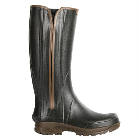 RAIN BOOTS RENFORT 540 ZIPPER HUNTING GREEN