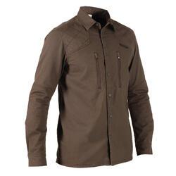 Overhemd Renfort 520 voor de jacht bruin