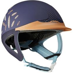 Safety Jump Horse Riding Helmet - Brown