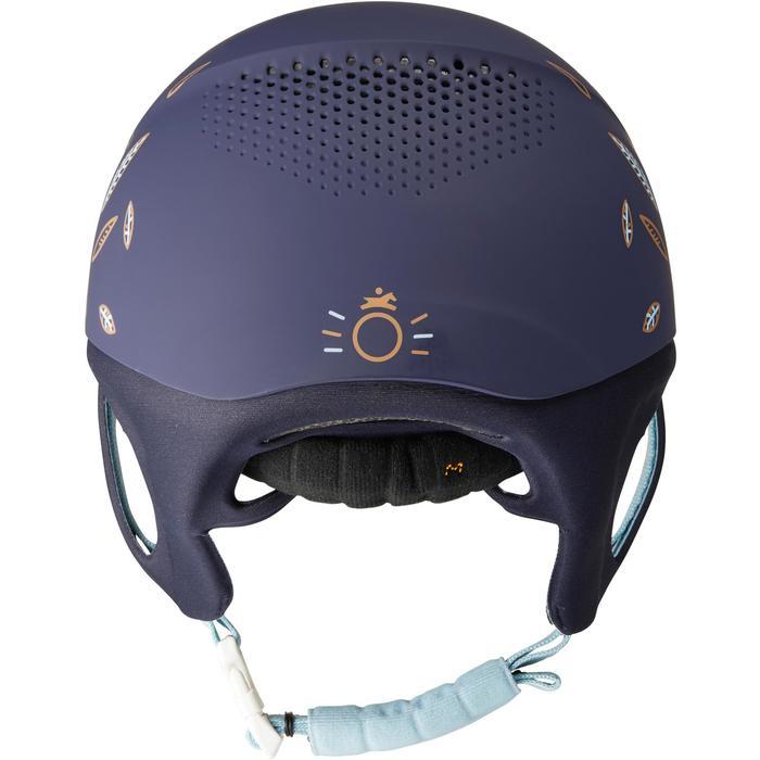 Casque équitation SAFETY CABRIOLE rouge et - 1163435