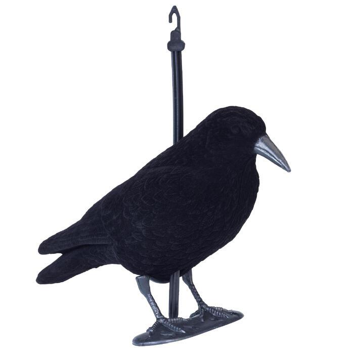 Reclamo Caza Cuervo Flocado Con Pica