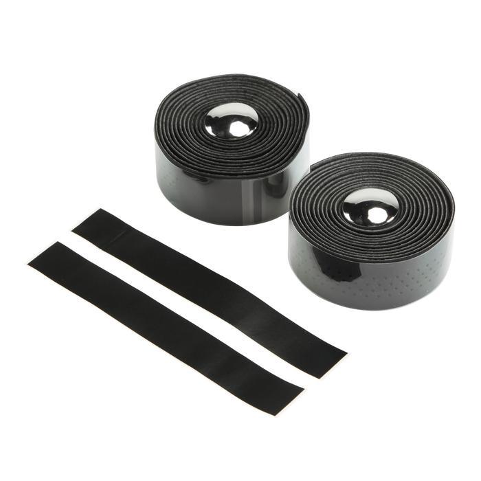Mikrofaser-Lenkerbänder 500 schwarz
