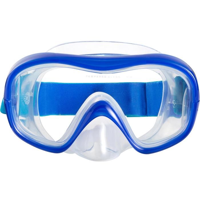 Kit masque tuba de snorkeling 520 Adulte - 1163451