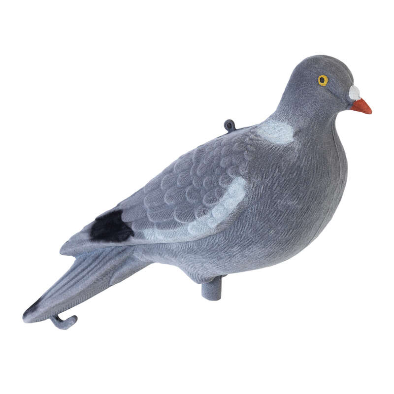 DECOYS & CALLS PIGEON Shooting and Hunting - FLOCKED 3D PIGEON DECOY STEPLAND - Hunting Types