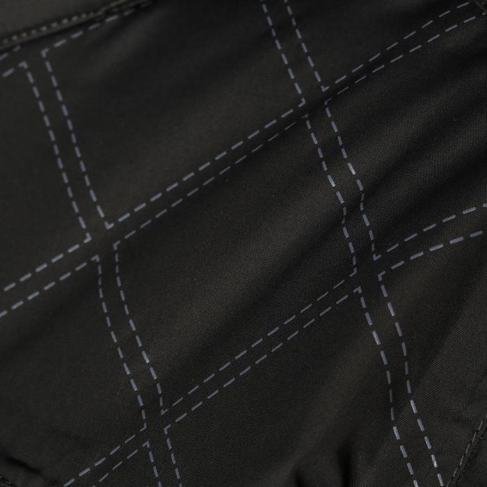 Veste chaude et imperméable femme équitation TOSCA 2 gris foncé/chevron - 1163793