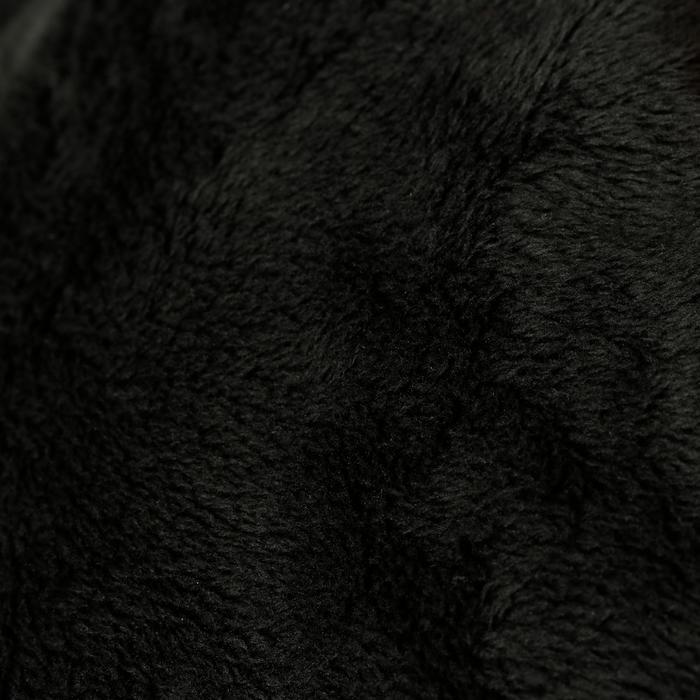 Warme en waterdichte damesjas Tosca 2 voor ruitersport donkergrijs/visgraat