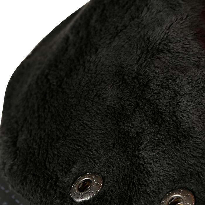 Veste chaude et imperméable femme équitation TOSCA 2 gris foncé/chevron - 1163802