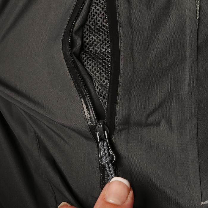 Veste chaude et imperméable femme équitation TOSCA 2 gris foncé/chevron - 1163818