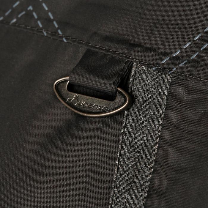 Veste chaude et imperméable femme équitation TOSCA 2 gris foncé/chevron - 1163827