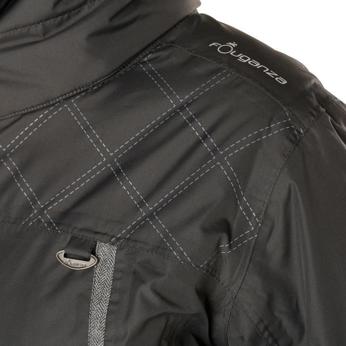 Veste chaude et imperméable femme équitation TOSCA 2 gris foncé/chevron - 1163830
