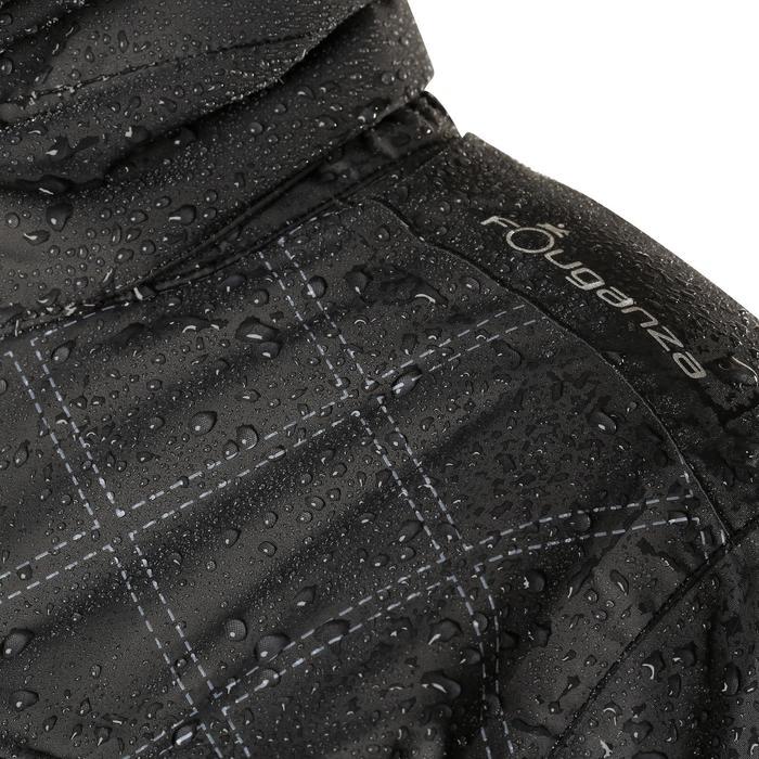 Veste chaude et imperméable femme équitation TOSCA 2 gris foncé/chevron - 1163834