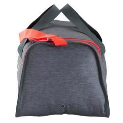 Sporttasche Kipocket 40 L grau/rot
