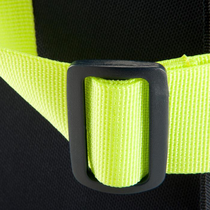 Sac de sports collectifs Kipocket 60 litres bleu jaune fluo
