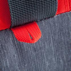Sporttasche Kipocket 60L grau/rot