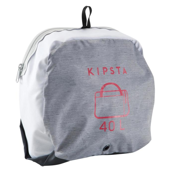 Sac de sports collectifs Kipocket 40 litres gris rose