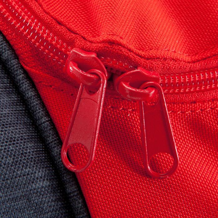 Voetbaltas / Sporttas Kipocket 60 liter grijs/rood