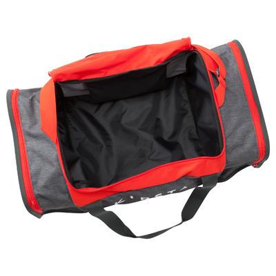Sac de sports collectifs Kipocket 60 litres gris rouge