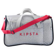 FOOTBALL Duffle bag Kipocket 40 Litres - Grey/Pink