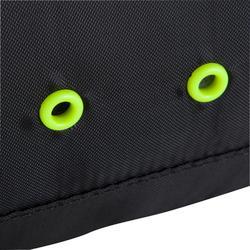 Bolsa para calzado 10L negro amarillo