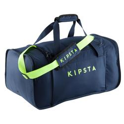 Kipocket Team Sports Bag 60 Litres - Blue/Neon Yellow