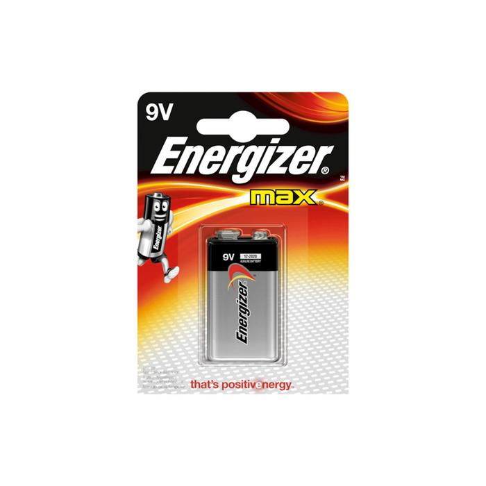 Batterij Energizer Max 9V/6LR61 FSB1