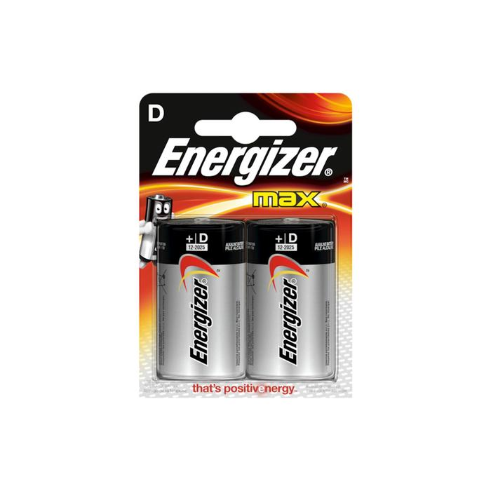 2 Batterien LR20 MAX