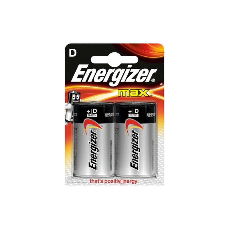 Energiaellátás, elemek Túrázás - Elem LR20 Max, 2 db ENERGIZER - Túra felszerelés