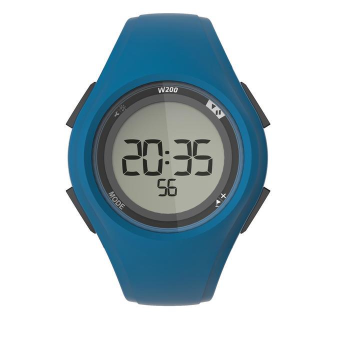 Reloj cronómetro de running W200 M azul marino
