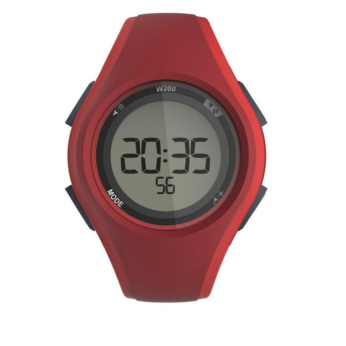 Reloj cronómetro para running W200 M ROJO
