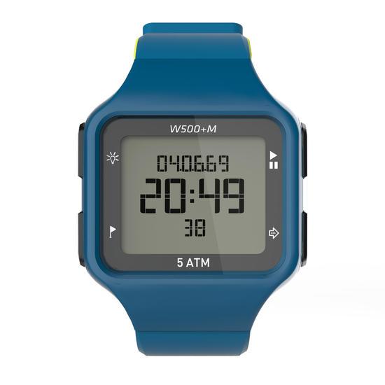 Digitaal sporthorloge voor heren W500+ M SWIP timer - 1164151