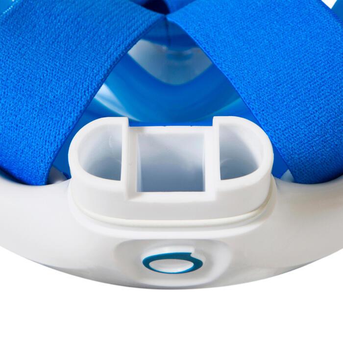 Snorkelmasker Easybreath blauw (vanaf 10 jaar)