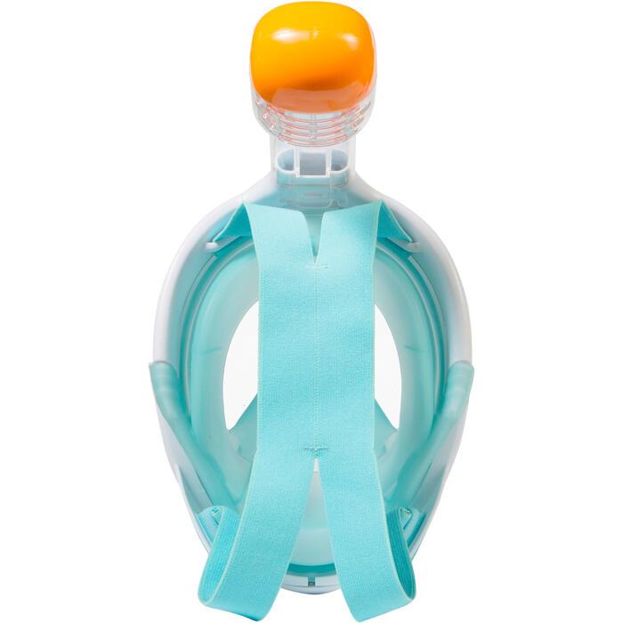 Máscara de esnórquel Easybreath azul Atolón