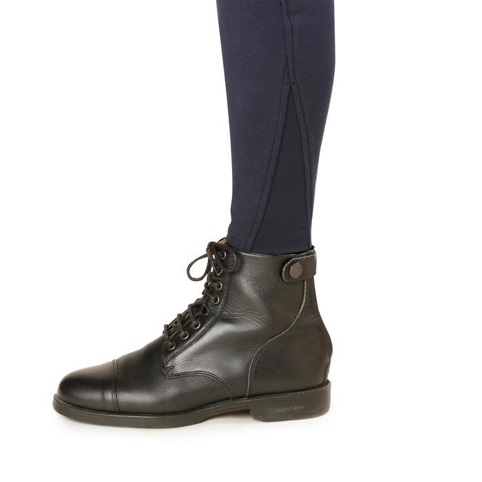 Pantalon chaud équitation femme VICTORIA bleu marine - 1164190