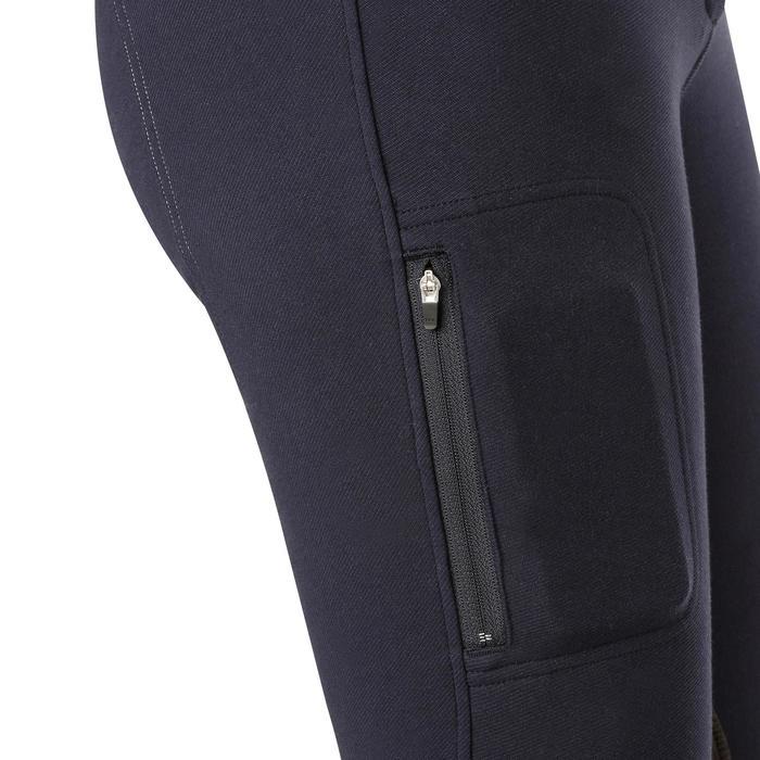 Pantalon chaud équitation femme VICTORIA bleu marine - 1164192