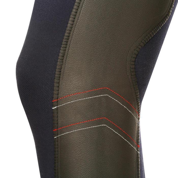 Pantalon chaud équitation femme VICTORIA bleu marine - 1164195