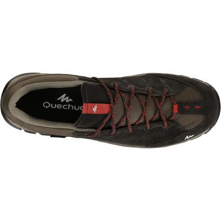 Arpenaz 500 Mens Hiking Waterproof Shoes Brown