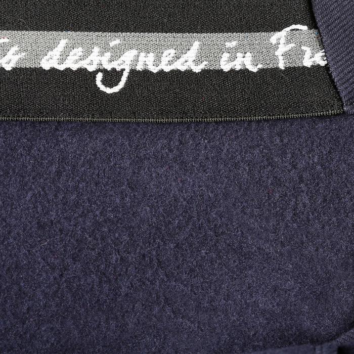 Pantalon chaud équitation femme VICTORIA bleu marine - 1164200