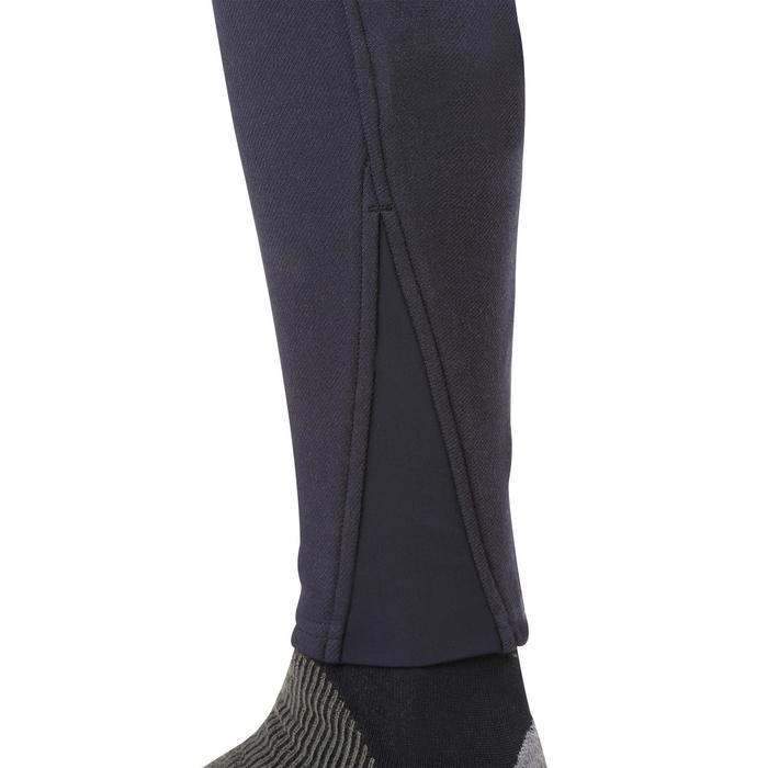 Pantalón cálido equitación mujer VICTORIA azul marino