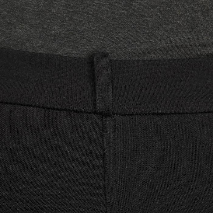 Pantalon fond de peau équitation femme 180 FULLSEAT noir