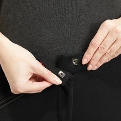 Pantalón badana equitación mujer 180 FULLSEAT negro