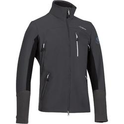 Jas ruitersport heren Softshell 700 donkergrijs
