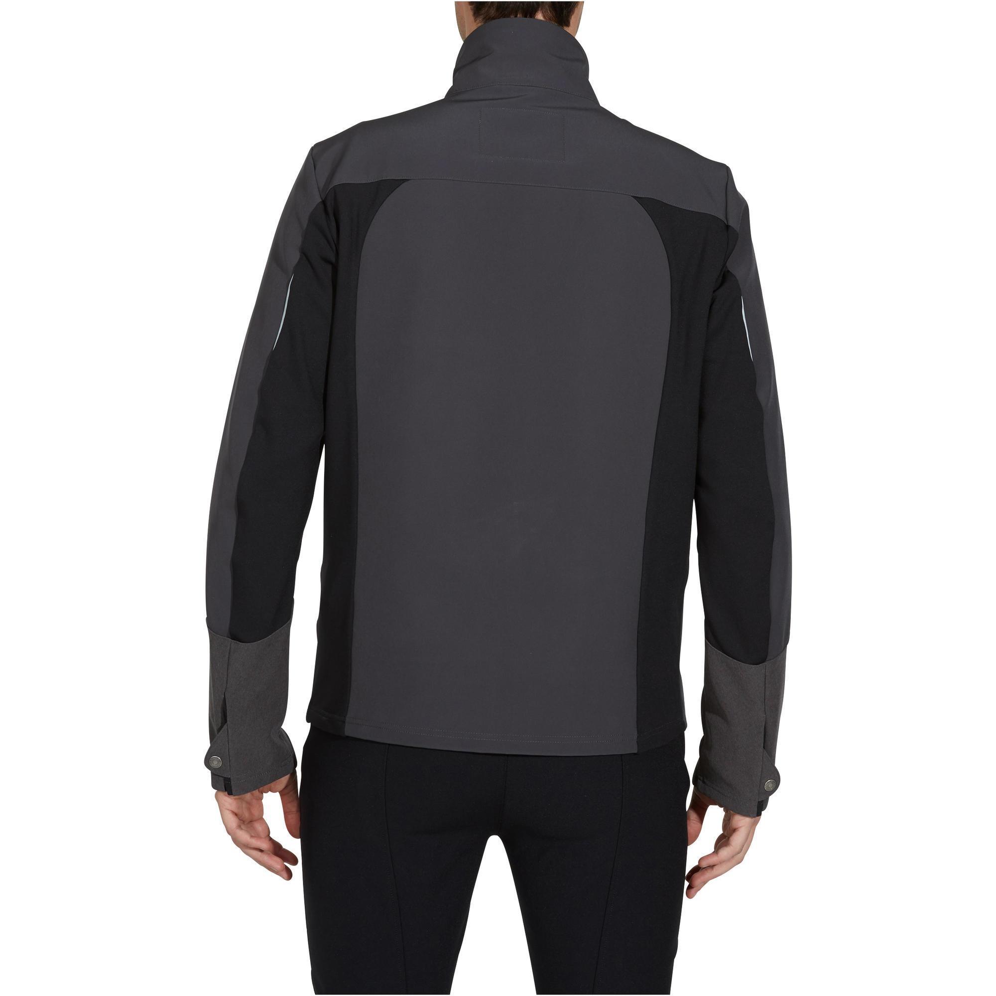 Chaqueta softshell equitación hombre gris oscuro fouganza jpg 700x700 Soft  shell 07a51ad62820