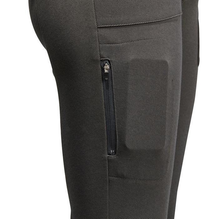 Pantalon chaud équitation homme VICTOR gris foncé - 1164984