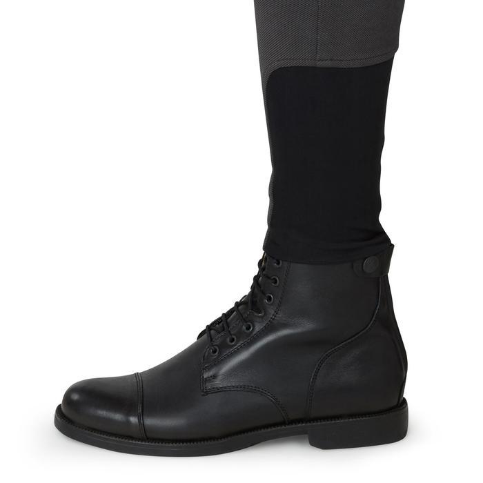 Pantalon chaud équitation homme VICTOR gris foncé - 1164986