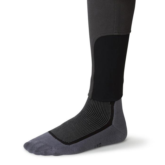 Pantalon chaud équitation homme VICTOR gris foncé - 1164987