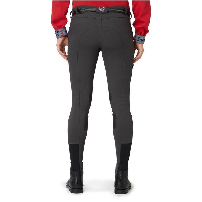 Pantalon chaud équitation homme VICTOR gris foncé - 1164994